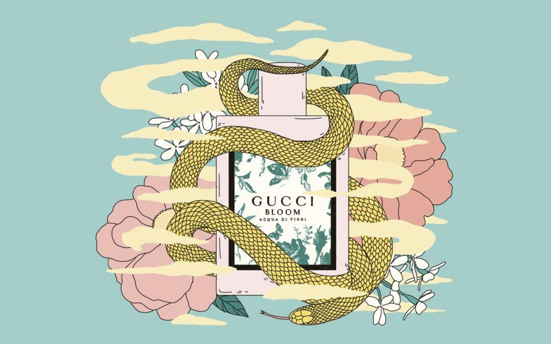 A closer look at Gucci Bloom Acqua Di Fiori campaign